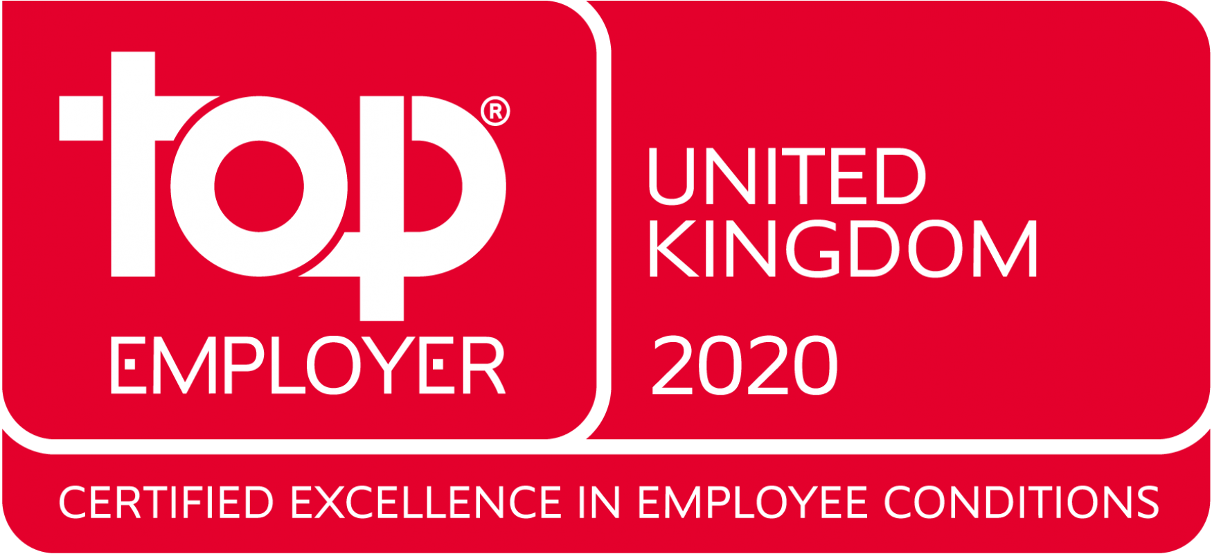 top employer uk 2020 logo